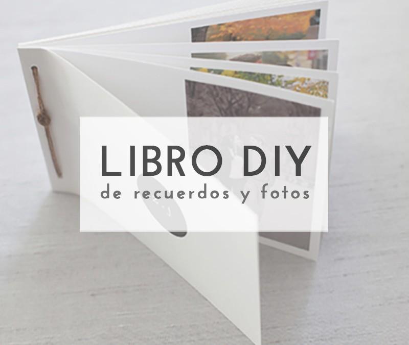 LIBRO DE RECUERDOS DIY