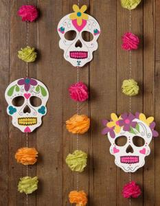 Guirnalda DIY para halloween