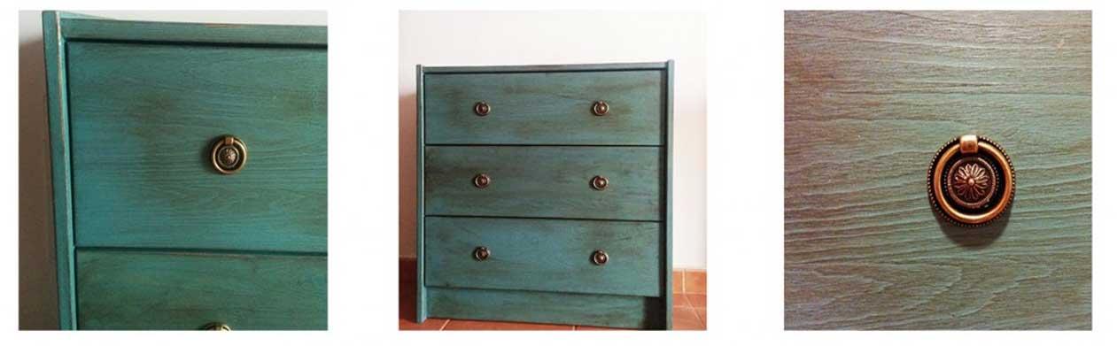 Renovar una cómoda de madera