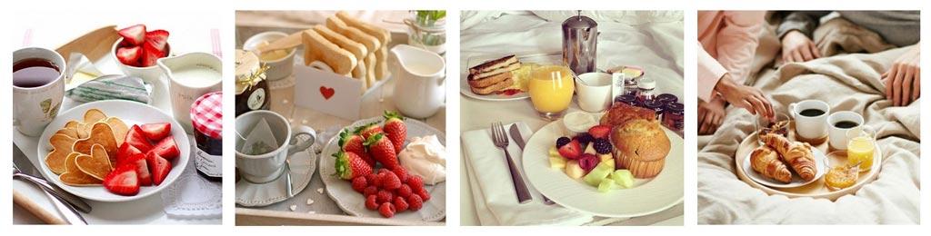 Desayuno en la cama para San Valentin