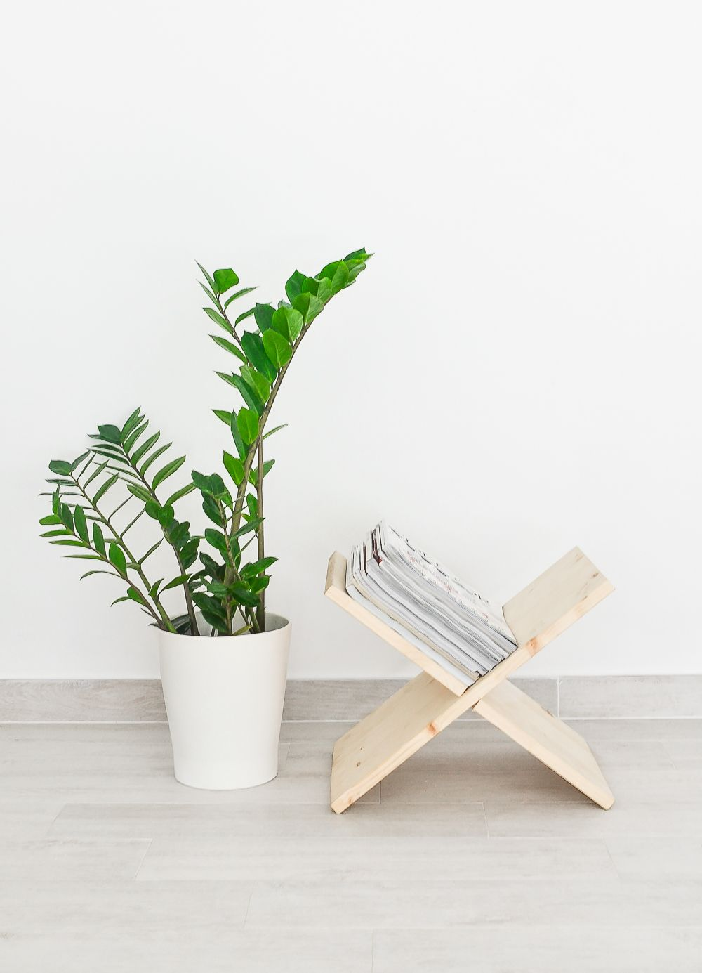 Revistero de madera DIY