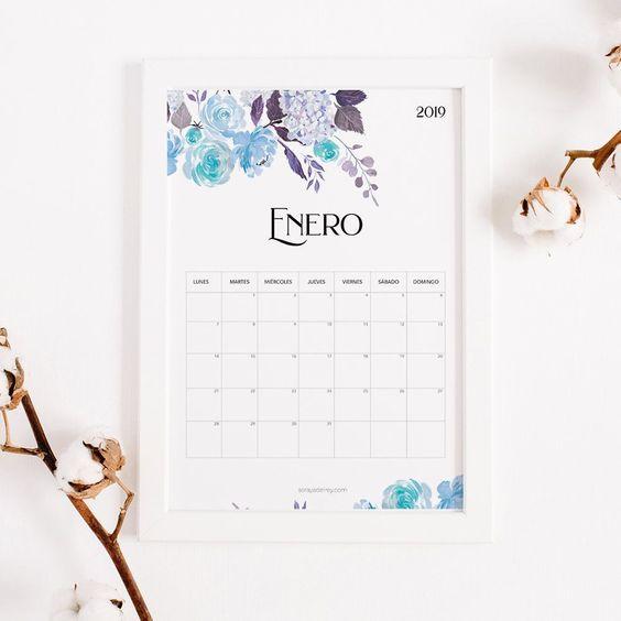 Calendario imprimible