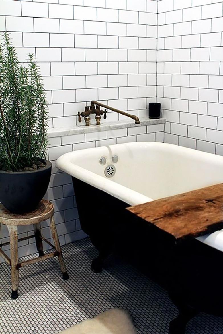 DIY bandeja para bañera